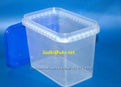 Контейнер пластиковый 1л для хранения круп, изюма, и др по низкой цене
