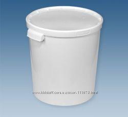 Ведро пластиковое пищевое 33л