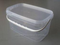 Контейнер пластиковый пищевой  5л, 5, 8л, 11л, 20л