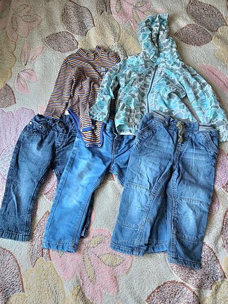 Пакет одежды на мальчика на 1-2 года