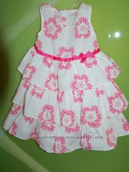 Красивое летнее, хлопковое платье