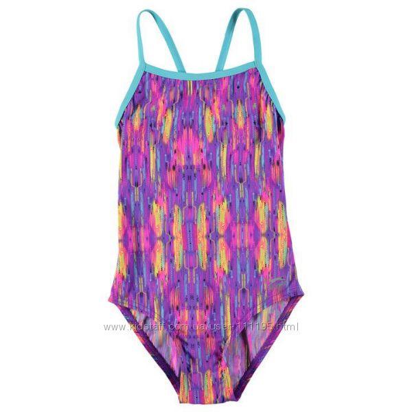 Сдельный сплошной подростковый купальник для спорта и пляжа Slazenger 13лет