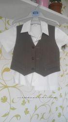 Костюм двойка и рубашка мальчику на выпускной в садик 110 р.
