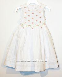 Новое платье Carter Club USA белое