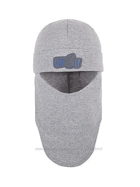Демисезонная шапка-шлем