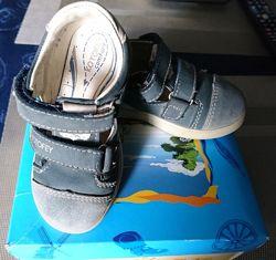 Кожаные туфли Котофей