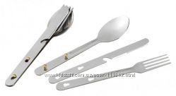 Ложки, вилки, ножи туристические, наборы Tramp