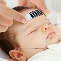Термометр градусник налобный и на Бутылочку безопасный для деток