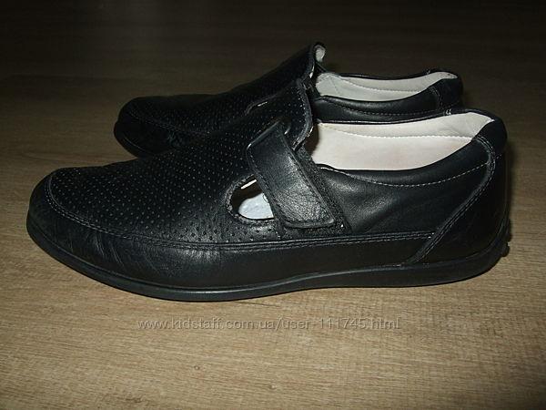 Кожаные туфли Polipeys р.34-35 стелька 22.5см Турция