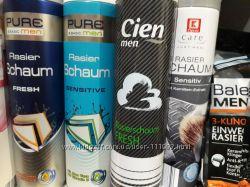 Гель, пена для бритья -товары с Германии