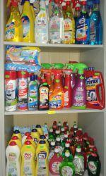 Средство для уборки и чистки в доме. Германия