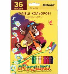 Карандаши цветные Марко Пегашка 36 цв.