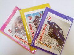 Обложки для тетрадей и книг Tascom Полимер