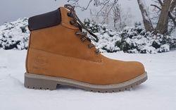 Зимние мужские ботинки Dockers оригинал. Натуральная кожа, мех. 41-47