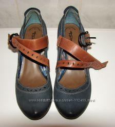 Туфли Tamaris 41 р. , 26 см, кожа
