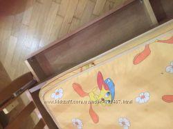 Продам детскую деревянную кроватку и комод Baby Italia