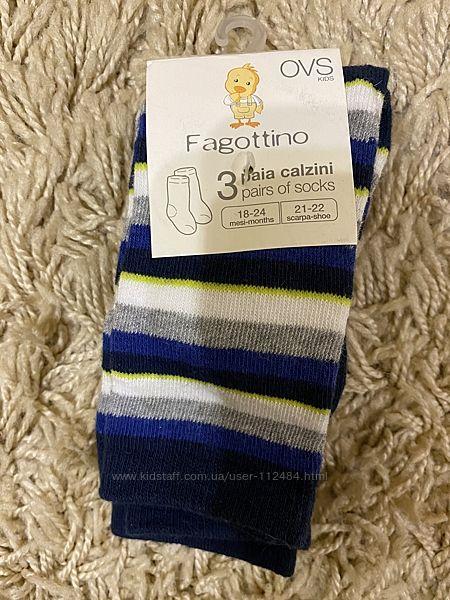 Носки Ovs  Fagottino на 1,5-2 года.