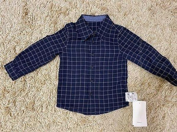 Рубашка на рост 90 см Name it