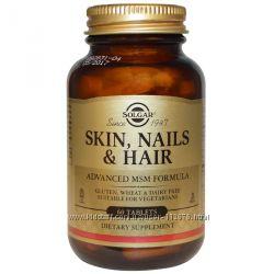 Solgar кожа ногти и волосы