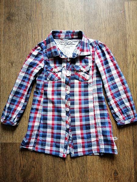 Крутая рубашка Kanz 3-4 года