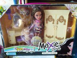 Кукла Мокси-оригинал с золотой мебелью
