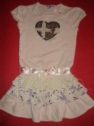 Платье Piccola Monelina 122-128 в идеальном состоянии