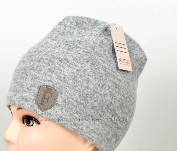 Детская И подростковая двойная трикотажная шапочка Ангора меланж шапка