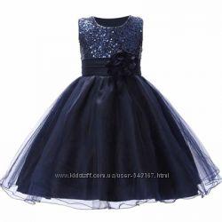 Платья для девочек 10 расцветок, нарядные, вечерние, выпуск