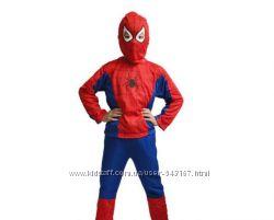 Спайдермен, человек паук, костюм карнавальный