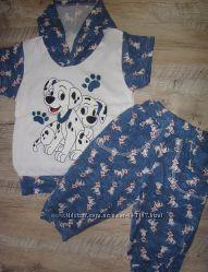 Детский костюм Далматинцы. Новинка Мягенькие натуральные, гигиеничные, гигр
