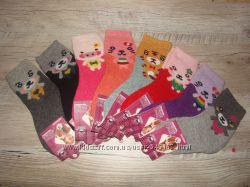 Термо носочки детские, зима. Шерстяные носки детсике. Ангора, шерсть 21-26рр