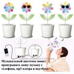 Цветок музыкальная колонка