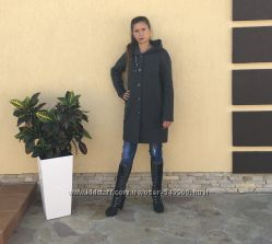 Пальто на евроватине размер 46-48
