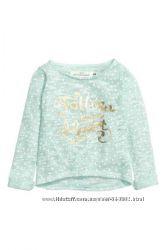 Свитер-блуза тонкий от H&M 110-116