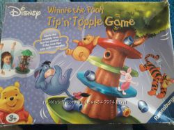 Игра детская winnie the pooh tip n topple game