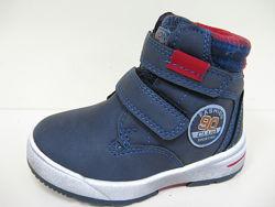 Распродажа Синие зимние ботинки для мальчика