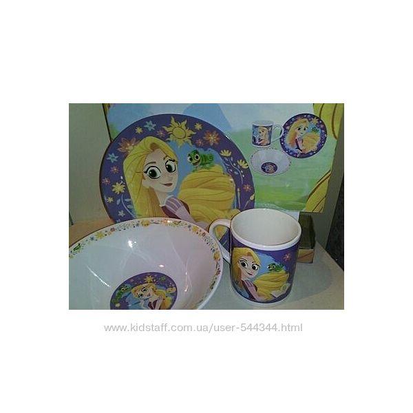 Набор детской посуды  Принцесса Рапунцель