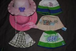 Шляпки, панамки, банданы для детей от 70 руб
