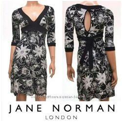 Черно-белое стильное платье Jane Norman бу по сказочной цене.