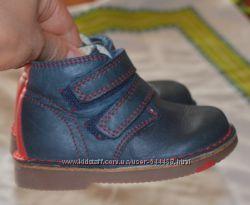 Кожаные ботинки MARKS & SPENSER в отличном состоянии