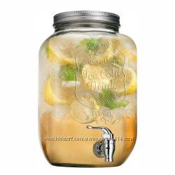 Лимонадница с инфузором для фруктов и краником на 8литров