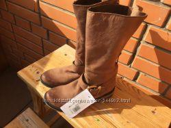 Стильные кожаные ботинки полусапоги в байкерском стиле Steve Madden