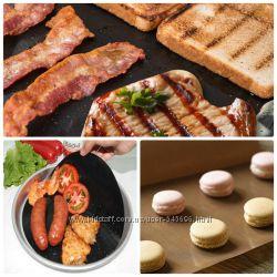 Антипригарный коврик, для выпечки, для сковородки, барбекю, три вида