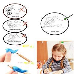 Насадка силиконовая на карандаш, ручку, для правильной постановки пальцев