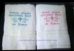 полотенце именное 70х140, Крюковщина