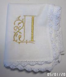 женские, детские носовые платочки именные Крюковщина
