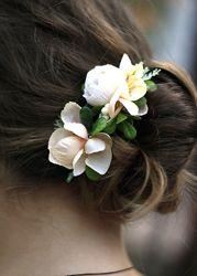 Украшения для волос браслеты с цветами
