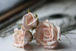 Розы шпильки  в прическу.