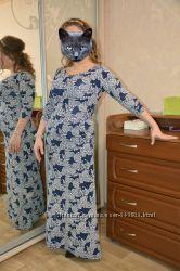 Платье нарядное вечернее в пол