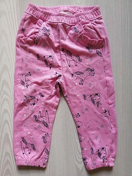 Хлопковые штаны  Topomini на 86 см.